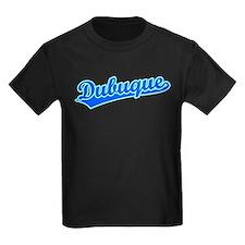 Retro Dubuque (Blue) T