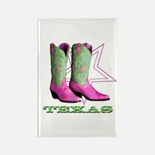 Texas Boots! Rectangle Magnet