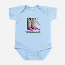 Texas Boots! Infant Bodysuit