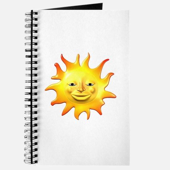 Retro Style Sun Journal