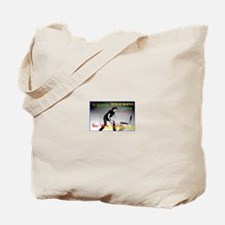 Hitting Chair Tote Bag