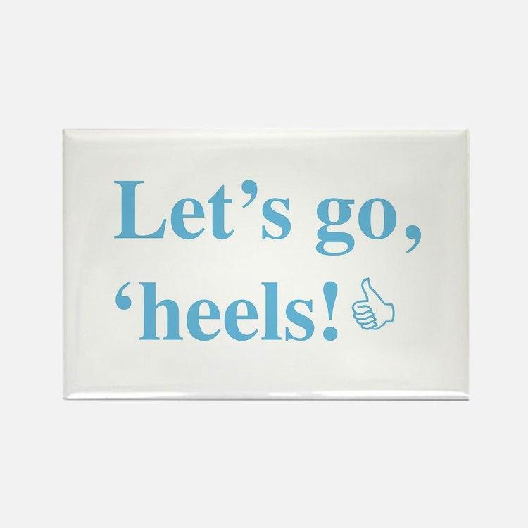 Cute Tar heels Rectangle Magnet