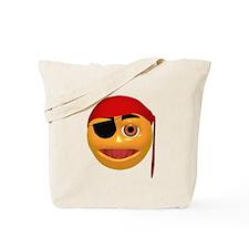 Argh! Pirate Face Tote Bag