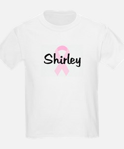 Shirley pink ribbon T-Shirt