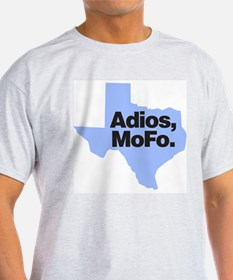 "Rick Perry ""Adios, MoFo"" Ash Grey T-Shirt"
