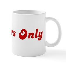 Members Only Mug