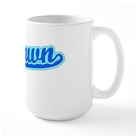 Retro Deshawn (Blue) Large Mug
