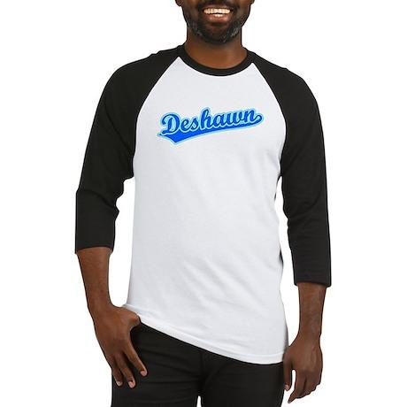 Retro Deshawn (Blue) Baseball Jersey