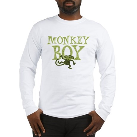 Yellow Monkey Boy Long Sleeve T-Shirt