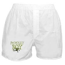 Yellow Monkey Boy Boxer Shorts