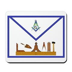 Masonic Apron Mousepad