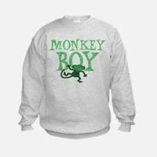 Green Monkey Boy Sweatshirt