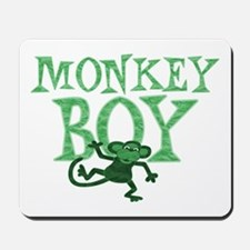 Green Monkey Boy Mousepad