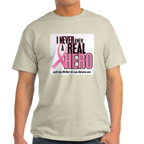 Never Knew A Hero 2 (Mother-In-Law) Light T-Shirt