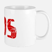 Leeds Faded (Red) Mug