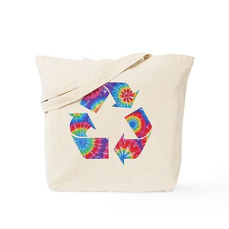 Recycle Tie Dye Tote Bag