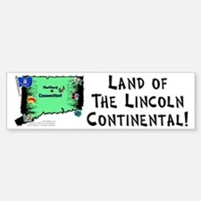 CT-Lincoln! Bumper Bumper Bumper Sticker