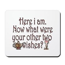 Two wishes Mousepad