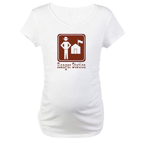 Ranger Station Maternity T-Shirt