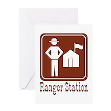Ranger Station Greeting Card