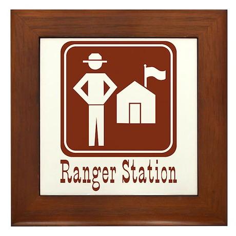 Ranger Station Framed Tile