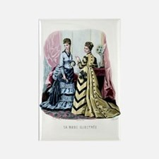 LA MODE ILLUSTREE - 1875 Rectangle Magnet