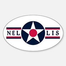 Nellis Air Force Base Oval Decal