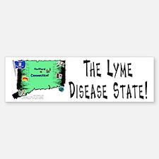 CT-Lyme! Bumper Bumper Bumper Sticker