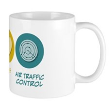Peace Love Air Traffic Control Mug
