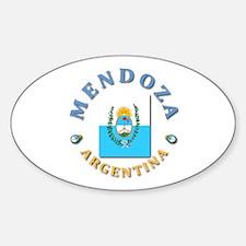 Mendoza Oval Decal