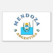 Mendoza Rectangle Decal