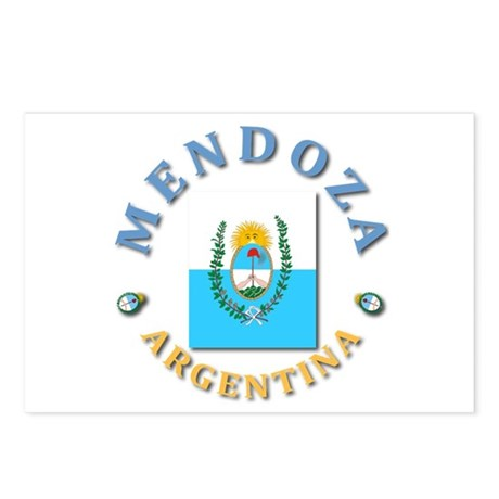 Mendoza Postcards (Package of 8)