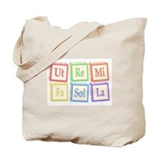 Ut Re Mi Fa Sol La Baby Blocks Tote Bag