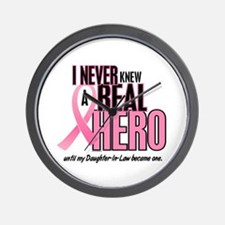 Never Knew A Hero 2 (Daughter-In-Law) Wall Clock
