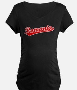 Retro Romania (Red) T-Shirt