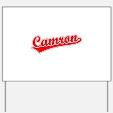 Retro Camron (Red) Yard Sign