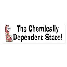 DE-Dependent! Bumper Bumper Sticker