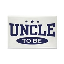 Uncle To Be Rectangle Magnet