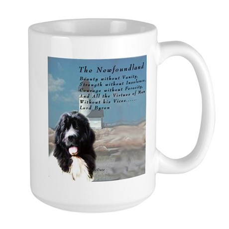 Lord Byron Newf Large Mug