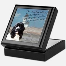 Lord Byron Newf Keepsake Box