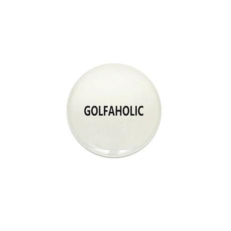 Golfaholic Mini Button