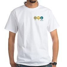 Peace Love Aerospace Engineering Shirt