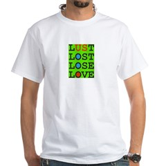 LUST 2 LOVE v Green-Eyed Monster Shirt