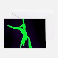 Aerial Showgirls Single Greeting Card