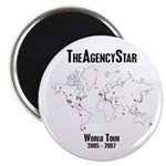 TheAgencyStar World Tour Magnet