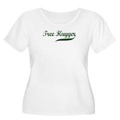 Tree Hugger (Script) T-Shirt
