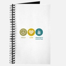 Peace Love Administrative Assisting Journal