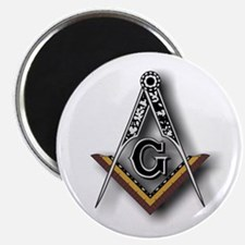 Masonic Square and Compass Magnet