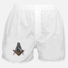 Masonic Square and Compass Boxer Shorts