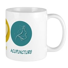 Peace Love Acupuncture Mug